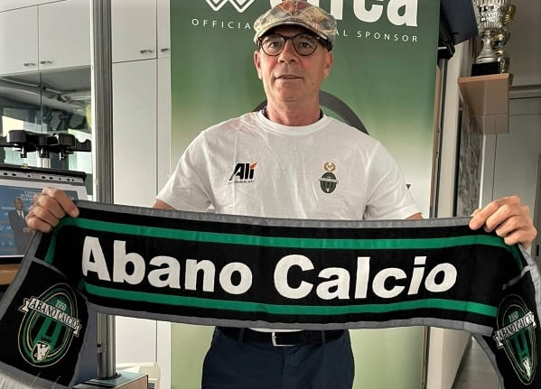 Massimo Milazzo, classe 1964, nuovo allenatore dell'Abano